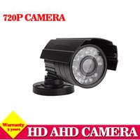 Wholesale night vision home surveillance system for sale - HD Analog IR outdoor Waterproof Bullet IR CUT MP P AHD Camera Night Vision AHD CCTV Camera for home surveillance system