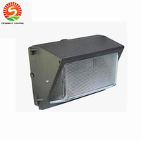 Wholesale Ip66 Led Driver - UL DLC Photocell Sensor Outdoor LED Wall Pack Light 100W 120W Industrial Wall Mount LED Lighting Daylights 5000K AC 85-265V +Meanwell driver
