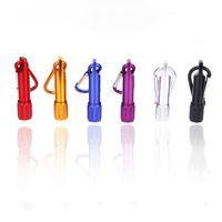 en iyi anahtarlık led feneri toptan satış-En iyi Taşınabilir Mini LED El Feneri Anahtarlık Alüminyum Alaşım Torch ile Carabiner Yüzük Anahtarlıklar LED mini El Feneri Mini-işık ücretsiz kargo