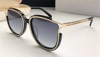 ingrosso gli occhi vuoti-New fashion designer occhiali da sole cat eye hollow frame semplice stile bestseller di alta qualità uv 400 occhiali di protezione con scatola originale 688