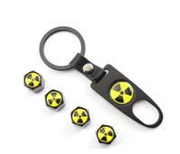 Wholesale Logo Chevrolet Cruze - Car accessories free shipping Hot Sale Car Wheel Tire Valve Caps with Mini Wrench & Keychain logo Biochemical for Chevrolet cruze (4-Piece P