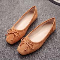 Wholesale Korean Pink Heels - New Wild Ballet Flat Korean Version of The Pants Shoes Pregnant Women Plus Size Shoes