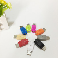 Wholesale cordless charging - Multicolor USB charger for e cigarette with charge protection battery cordless charger USB ego Charger for 510 thread ego-t evod Battery