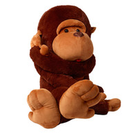 Wholesale plush brown monkey online - 51 quot CUSTOMIZED JUMBO GIANT HUGE STUFFED ANIMAL TEDDY MONKEY PLUSH SOFT TOY CM