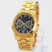 Wholesale Women Silver Christmas Dress - Christmas Gifts New 2013 Watches Men Luxury Brand Women Dress Casual Watches Stainless steel famous brand lady Gold Watch