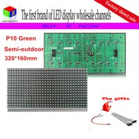 Plastic outdoor advertising media - P10 scan single white semi outdoor led module for DIP p10 Indoor advertising media LED Display