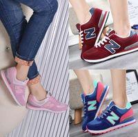 Wholesale gold joker - dorp shipping women men's South Korea Joker shoes letters breathable running shoes sneakers canvas Casual shoes shoe