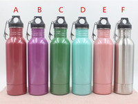 Stainless Steel sport bottle tops - Beer Bottle Armour Koozie Keeper Stainless Steel Beer Cooler Sports Bottles Insulator With Bottle Opener Colors top quality