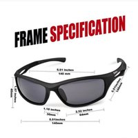 Wholesale Titanium Rimless Frames For Women - TR90 Sunglasses Hot Selling Unbreakable Frame Polarized Sports Sunglasses for Baseball Running Cycling Fishing Golf out128