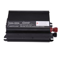 Wholesale Grid Dc - Wholesale- Solar Power Inverter Mini Off Grid Pure Sine Wave Inverter 300W 500W 1000W 1500W 12V DC-230V AC Modified Conventer High Quality
