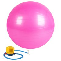 Wholesale 55cm Anti Burst and Slip Resistant Fitness Ball with Pump