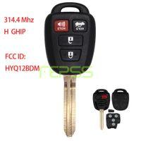 Wholesale toyota car key chips - New Keyless Entry Remote Car Key Fob 314.4Mhz H Chip per Toyota RAV4 2012 2013 2014 2015 2016 FCC ID GQ4-52T HYQ12BDM