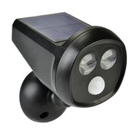 Wholesale Pir Motion Activated - New Outdoor Solar Lamps Wireless 2led Solar Power Security Light Cordless Motion Activated PIR Sensor lighting