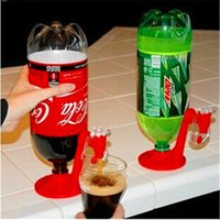 Wholesale mini cola for sale - Group buy Mini Upside Down Drinking Fountains Fizz Saver Cola Soda Beverage Switch Drinkers Hand Pressure Water Dispenser Automatic IB062