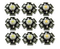 Wholesale Al Base - Wholesale- 50pcs lot High Power 1W 3W Cool   Warm White 3500K 6500K 10000K LED Bulb Chip Crystal Diodes Light With 20mm AL Star Base