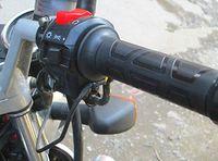 calentadores de manillar al por mayor-ATV 12V Motocicleta Calentador Eléctrico Calentador Térmico Barra de Mano Agarre Calentadores manillares Kit Pads Envío Gratis