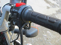ingrosso impugnature per motociclette-L'ATV 12V del motociclo riscalda il manubrio riscaldato caldo elettrico del manubrio degli scaldini dell'estremità della barra della mano riscalda i corredi del corredo dei manubri Trasporto libero