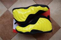 Wholesale Sports Optics - PENNY HARDAWAY Wu Tang Optic Yellow Men Basketball Shoes Sports Sneakers mens shoe With Shoes Box