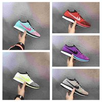 Wholesale Casual Nude Color Shoes - New Color Racer Lunarepic Running Shoes For Men Women Casual Racers Lightweight Breathable Lunar Epic Lunarepics Sneakers 36-45