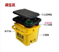 Wholesale Pressure Wash Car - Wholesale-35L portable electric washing device 220v high pressure water gun car wash pump car cleaning machine 12v household 60W