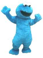 Wholesale Elmo Cartoon Mascot - BLUE elmo Mascot Costumes Cartoon Character Adult Sz 100% Real Picture