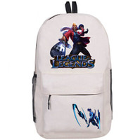 Wholesale Draven League Legends - Draven backpack Lol the Glorious Executioner day pack League of Legends school bag Game rucksack Sport schoolbag Outdoor daypack