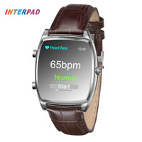 Wholesale Blood Pressure Monitors Best - Wholesale- Interpad iNew Smart Health Smart Watch For Parents Best Gift With Identify Blood Pressure Heart Rate Sleep Monitor Wristwatch