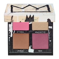 Wholesale Hot Gallery - Hot Brand NEW in BOX Jean-Michel Basquiat Gallery Blush Palette Limited Edition Gallery Blush Palette Blush Bronzer Highlight