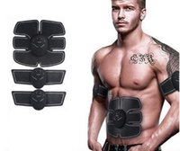 Wholesale Ems Massager - Wireless Smart EMS Abdominal Muscles Intensive Training Device Body Sculpting Weight Loss Slimming Abdomen & Arm Massager FedEx Free