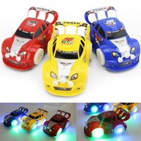 Wholesale Racing Car Toys - Kid's Toy Christmas Electronic Toys Automatic Steering Flashing Music Racing Car Electric Universal Baby Toy Brinquedos Car