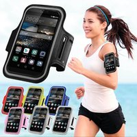 Wholesale Huawei Ascend P6 Case Cover - Wholesale- For Huawei Ascend Y600 Y635 620s P6 P7 P8 P8 Lite P9 5X Running Sport Gym Armband Bag Case Jogging Arm Band Mobile Phone Cover