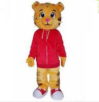 Wholesale Tiger Mascot Costume Sale - Factory direct sale EVA Material Helmet cartoon Cakes Daniel Tiger Mascot Costume Daniele Tigere Mascot Costumes