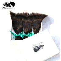 Wholesale Eurasian Virgin Unprocessed Hair - New Arrival Mocha Hair,Eurasian Virgin Human Hair Extensions 3 Or Mix 3pcs lot Unprocessed Natural Color Can Be Dyed Fast Shipping By DHL