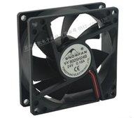 Wholesale Industrial Hard Drives - SNOWFAN YY8025H24B 8025 0.16A 8 cm 24V 2 wire industrial fan dual ball DC fan
