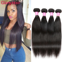 Mangolês Virgin Hair Mix Comprimento 8-26 polegadas Glary Remy Hair Weave Bundles 6pcs Fast Express Top Quality Mongolian Hair Wefts