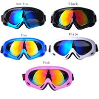 Wholesale Mirrors Children - Mirrored Skiing Goggle Adult Children UV Protection Outdoor Sport Windproof Glasses Mirror Multicolor Snow Ski Goggles