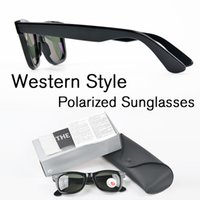 Wholesale italy man glasses - Western Style Brand Designer Polarized Sunglasses Men Classic Made In Italy sqaure frame Polarized UV400 sunglasses With Box and Accessories