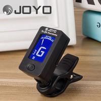 Wholesale Joyo Clip Tuner - Clip On Chromatic Tuner Guitar Bass Banjo Ukulele Violin OUD Tuner JT-01 JOYO
