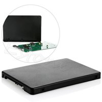 as pic ssd quality - Brand New HDD Efficient And Fast Mini Pcie MSATA SSD to quot SATA3 Adapter Card With Case High Quality