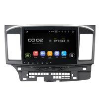 "Wholesale Mitsubishi Car Stereo Gps - Deckless CAPACTIVE 1024X600 HD screen 10.1"" Android 5.1.1 Fit MITSUBISHI LANCER 2015 Car DVD Navigation GPS Radio wifi obd2 player"