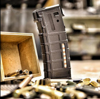Wholesale Ar15 Magazines - wholesale 2017 tactical Magazine USB power AR15 PMAC Magazine USB power 3x18650 battery(Not included) Mobile charging supply magazine case