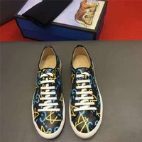 Wholesale High End Make Up - 2017new brand designer low casual flat men shoes fashion cowhide luxury tlat shoes spring summer tie round cowhide custom made high-end