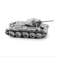 Wholesale Toy Miniatures For Sale - Models Building Toy Model Building Kits 2015 Hot Sale Tiger Tank Miniature 3D Metal Model Puzzles 3D Solid Jigsaw Puzzle Toys for