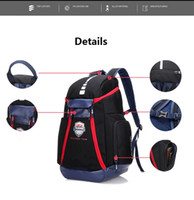 Wholesale College Shoes - Olympic USA Team normal version Packs Backpack Men Women Bags large capacity travel bags shoes bags basketball backpacks Free Shipping