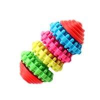 Wholesale Rubber Pet Toys - S5Q High Quality Colorful Rubber Pet Dog Puppy Teething Chew Toys Pet Toy Tool AAAGJL