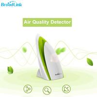 Wholesale Automation Testing - Wholesale- Broadlink A1 WiFi Air Quality Detector Sensor Smart Home E-air Home Automation System Filter Testing Air Humidity Noise