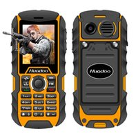 Wholesale Dual Sim Rugged - Huadoo H1 IP68 waterproof mobile phone FM flashlight MP3 support swimming shockproof dustproof outdoor rugged cell phone P013