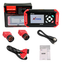 2017 Nuevo XTOOL HD900 Heavy Duty Truck Lector de Código HD900 Truck Diagnostic Scanner