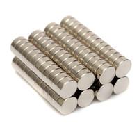 Wholesale Neodymium N52 Disc - 100pcs 5mmx2mm N52 Strong Round Magnets Rare Earth NdFeB Neodymium Magnets
