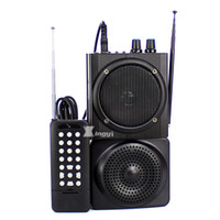 Wholesale speaker hunting bird resale online - 48W m Wireless Remote Control Trap Digital Hunting Bird Caller Dual Mini Speaker USB MP3 Player Hunt Pigeon Decoy Duck Call Device